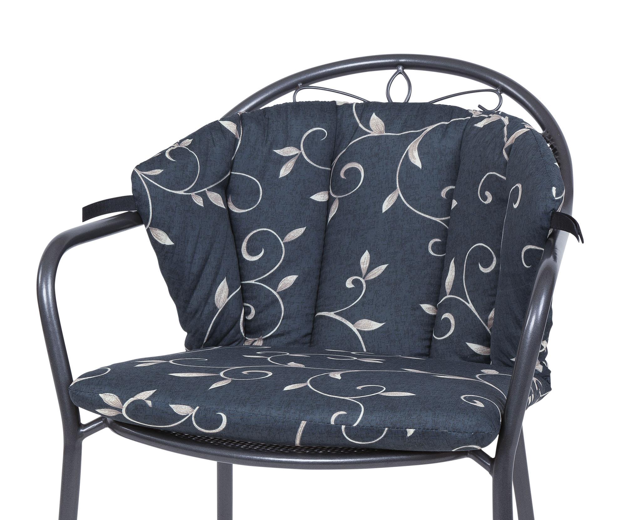 Auflage für Royal Garden MWH Sessel Elegance 2223 anthrazit Ranke KETTtex