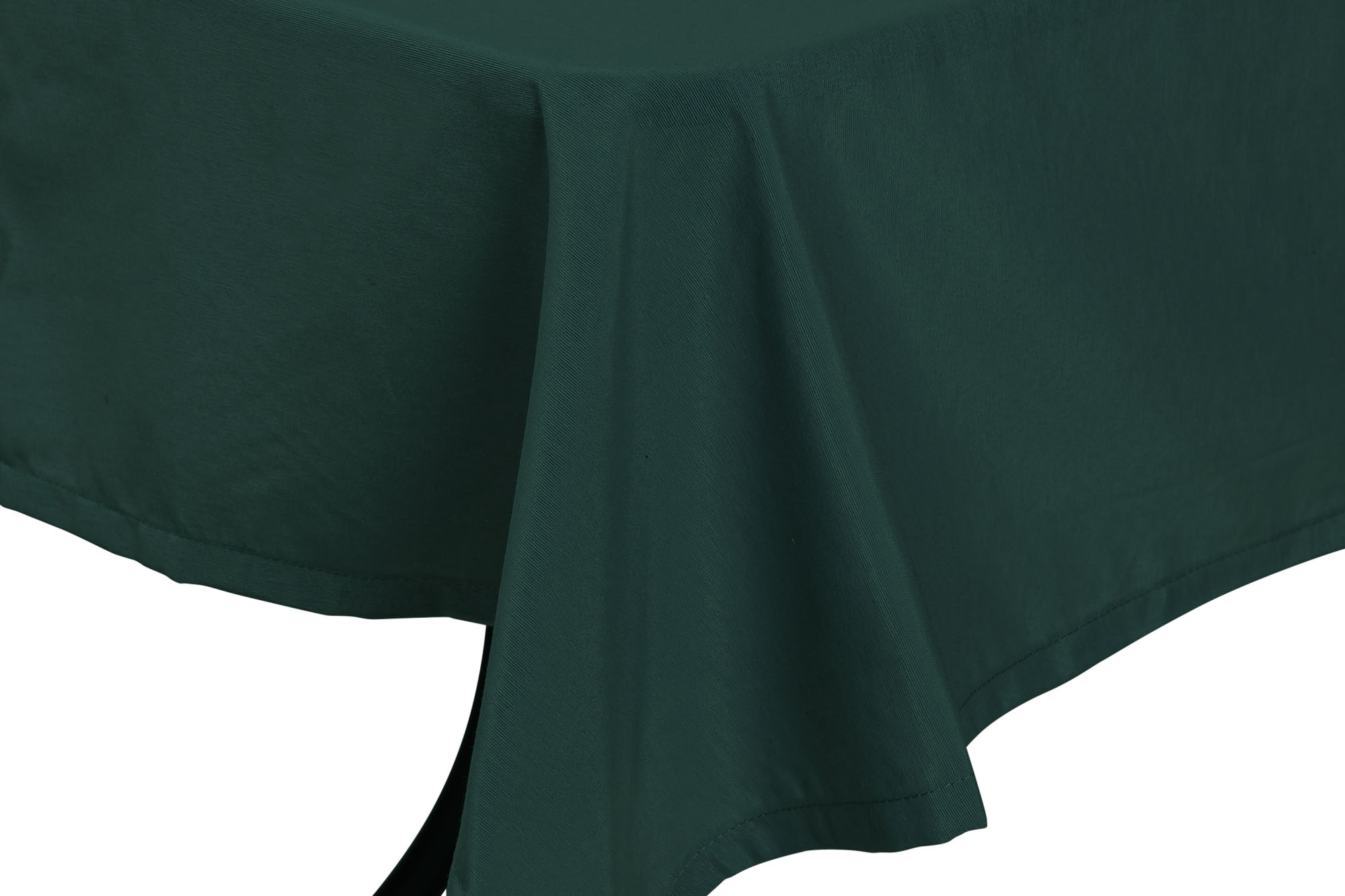 Tischdecke 140x180 cm dunkelgrün 2147